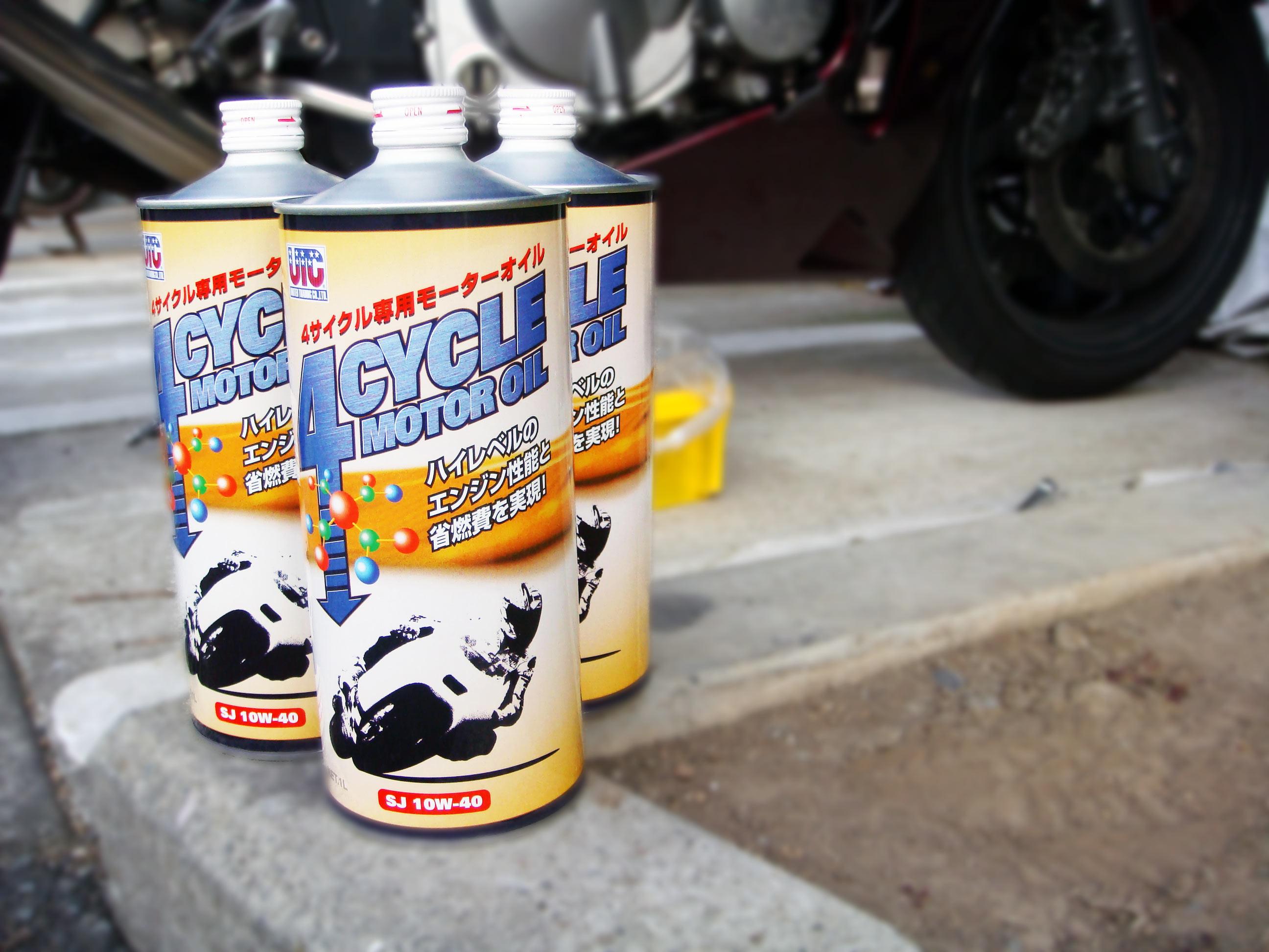 これでバッチリ!意外と簡単に出来るバイクのオイル交換!!のサムネイル画像