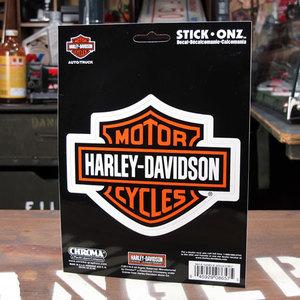 ハーレーにステッカーを貼って自分流のイケてるハーレーにしよう!!のサムネイル画像