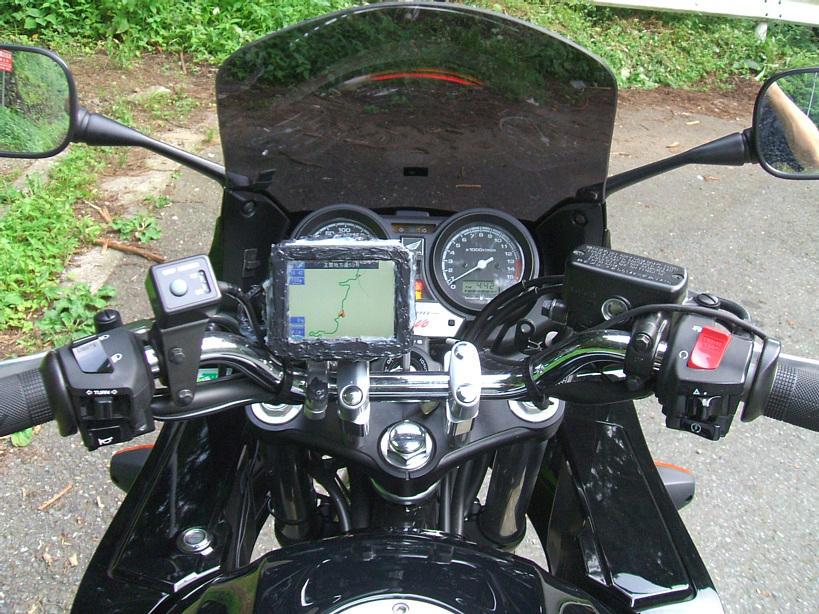 バイクのナビの取り付けたら、後はツーリングを楽しむだけです!のサムネイル画像