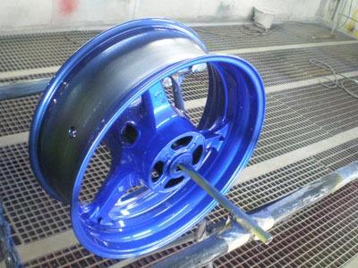 バイクのホイールの塗装はもうお済ですか?美しくなりますよ!のサムネイル画像