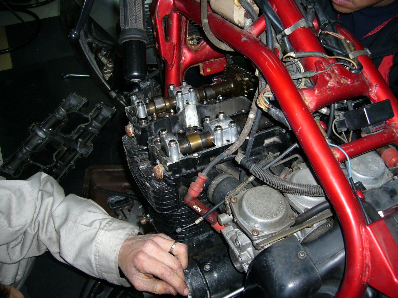 バイクのオーバーホールはエンジンとサスペンションをしていますか?のサムネイル画像