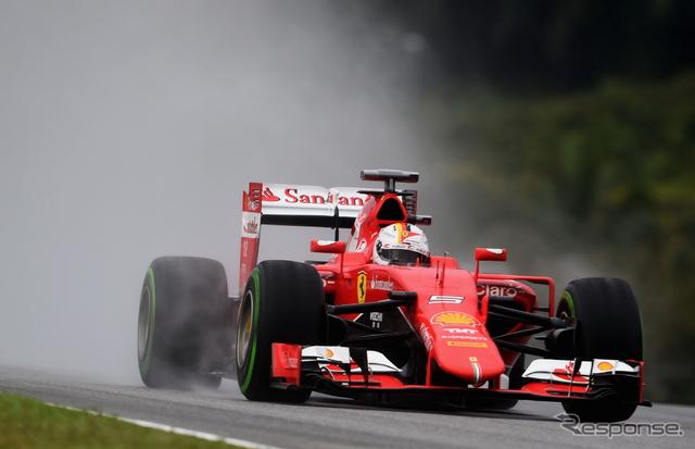 2015年F1第2戦 マレーシアGP 優勝はセバスチャン ベッテルのサムネイル画像